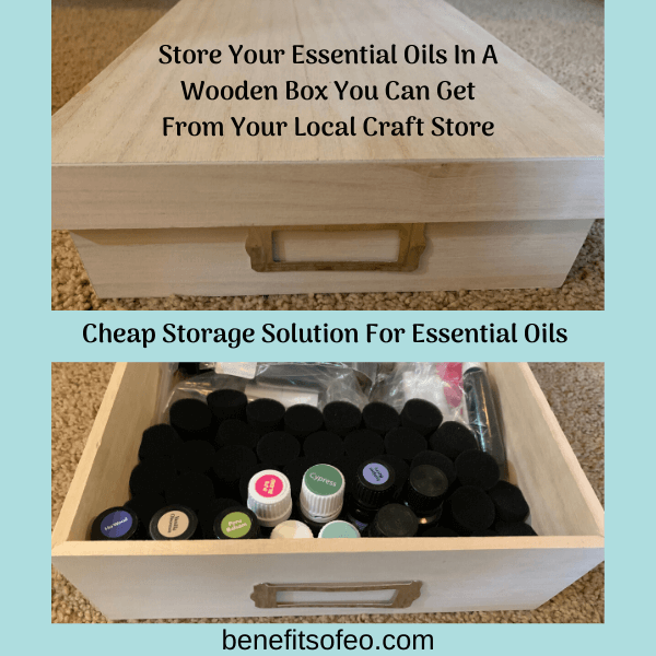 Store Essential OIls